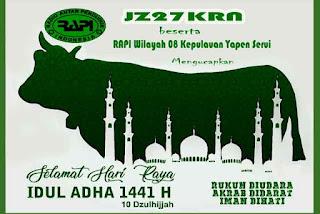 RAPI Ucapkan Selamat Hari Raya Idul Adha 1441 H