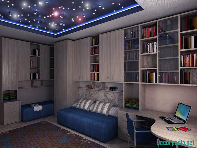 kids room ceiling designs and ideas, 3d ceiling with photo printing