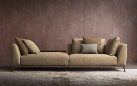 divani olivier di flou comfort e design per il living