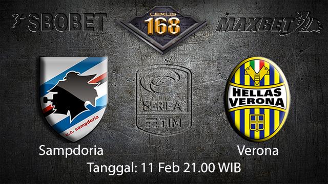 PREDIKSIBOLA - PREDIKSI TARUHAN BOLA SAMPDORIA VS VERONA 11 FEBRUARI 2018 ( ITALIAN SERIE A  )