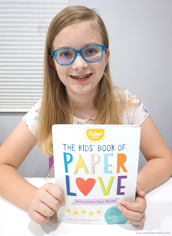 The Kids' Book of Paper Love Review #FlowBook