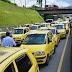 Levantamiento de pico y placa no les gustó a los taxistas de Pereira