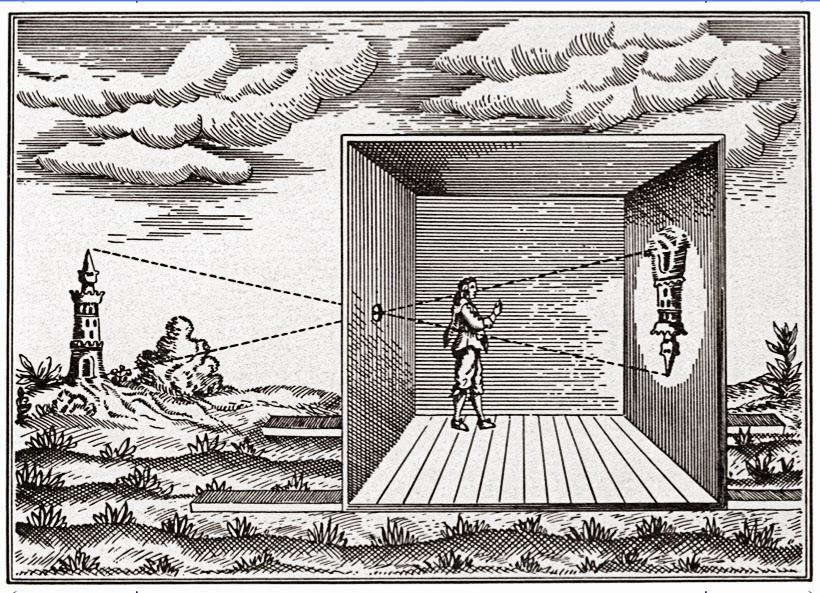 Ilustrasi Camera Obscura
