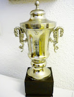 Top Spanish Cyclists - Bahamontes' La Vuelta 1958 King of the Mountains trophy