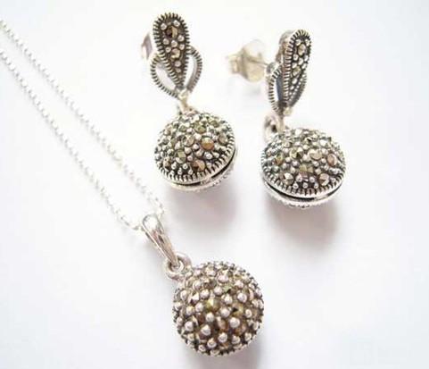 Bộ trang sức bạc Thái BTS401