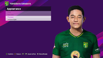 PES 2021 Faces Rizky Ridho by SR