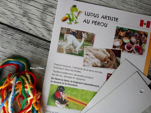Bulles de Plume box EnVoyaJeux Pérou