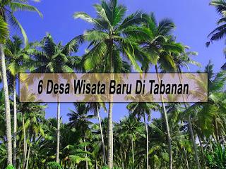 Inilah 6 Desa Wisata Baru Di Tabanan