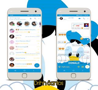 Duck Cute Theme For YOWhatsApp & Fouad WhatsApp By Driih Santos