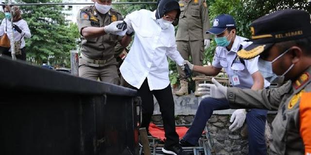 Mensos Blusukan Di Jakarta, Tapi Tak Blusuki Kolong Tol Waru-Tanjung Perak Selama Pimpin Surabaya