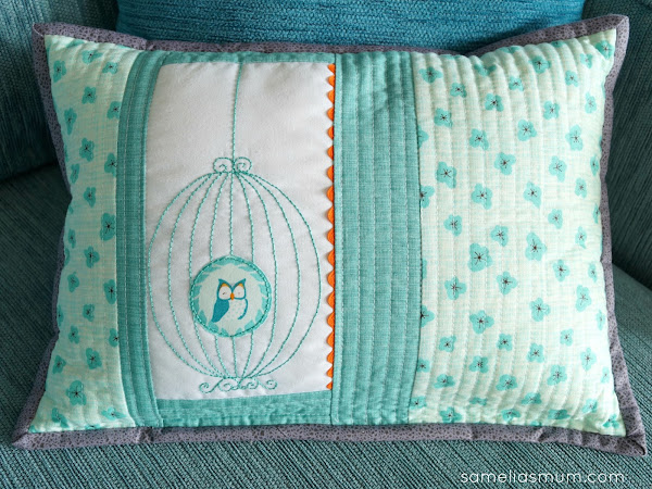 The Birdcage - QAYG Pillow (Free Pattern)