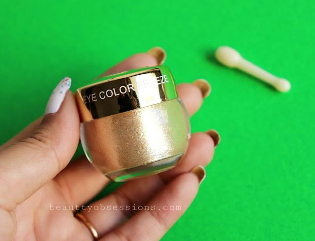 Beautybigbang Glitter Gel Eyeshadow Cream Review