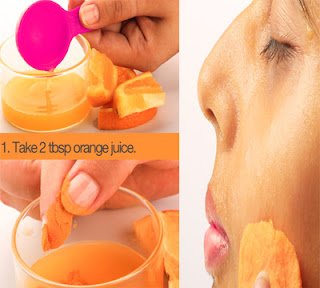 How To Use Oranges For Getting White Skin Naturally!
