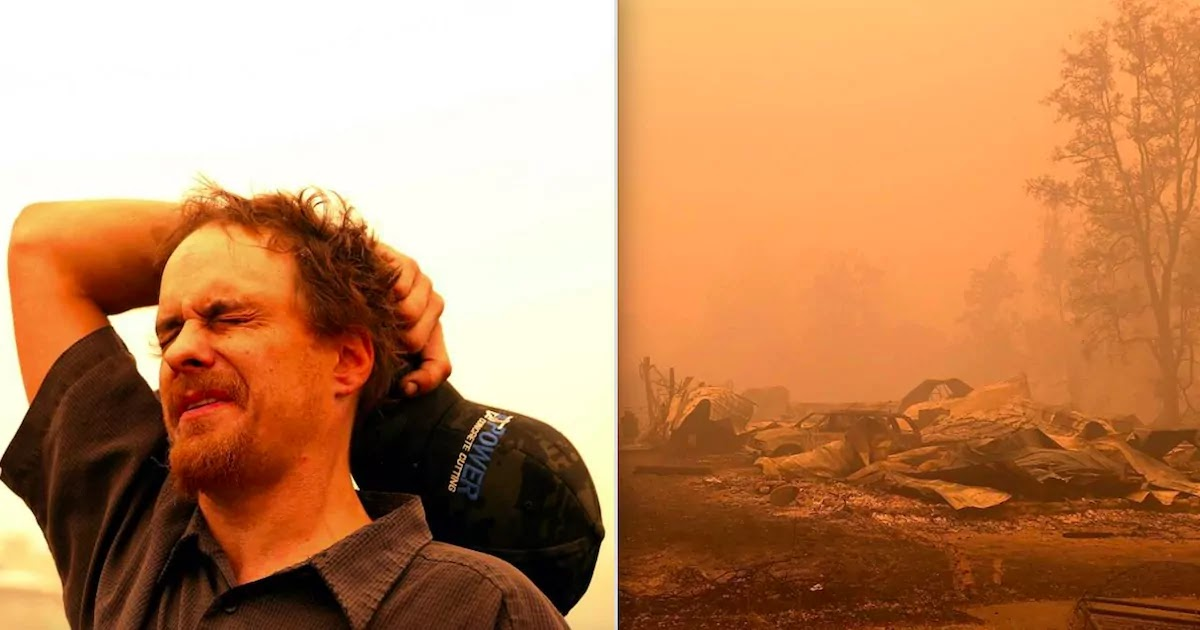 Man Searching For His Spouse In Oregon Wildfires Does Not Recognise Severely Injured Woman As His Wife