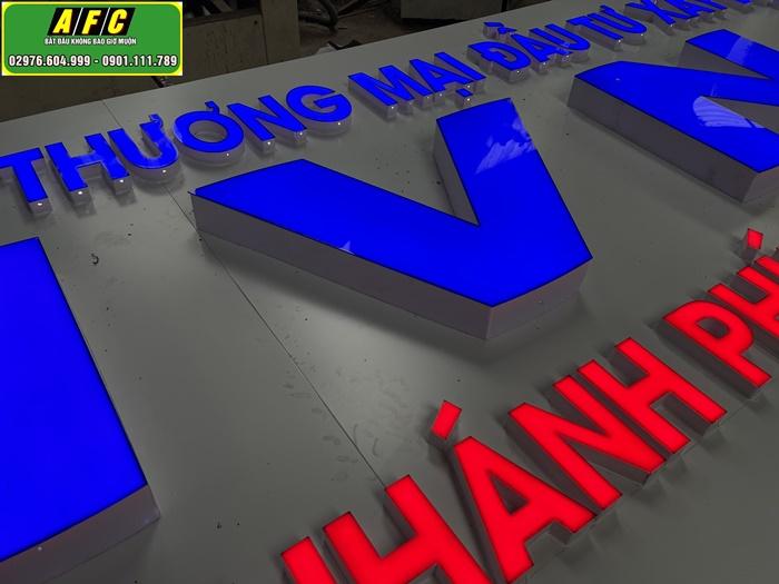 Làm bảng hiệu quảng cáo IVN Chi nhánh tại Phú Quốc