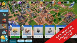 RollerCoaster Tycoon Touch MOD APK+DATA