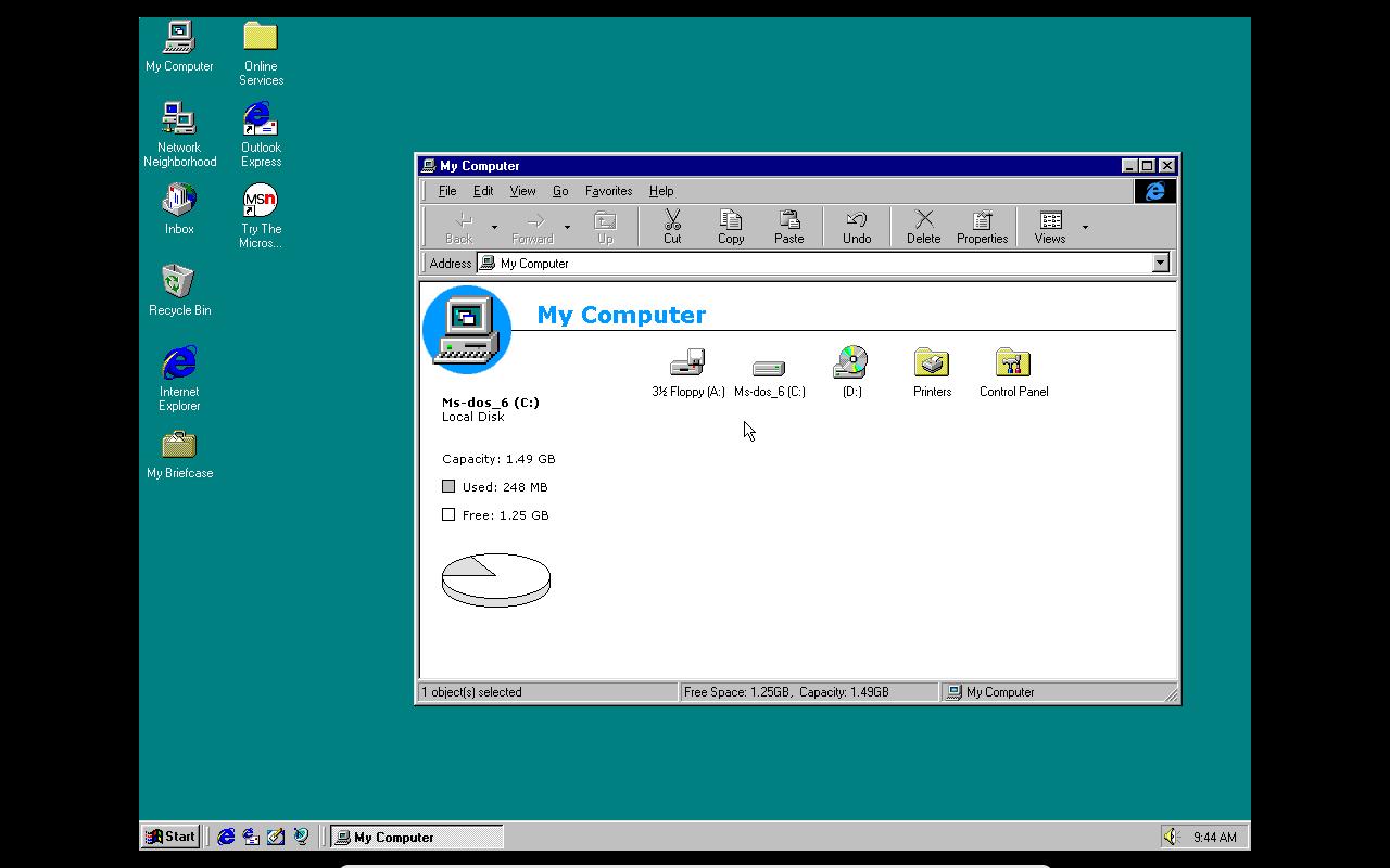 virtualbox windows 95 no sound
