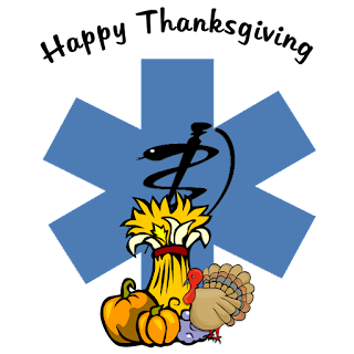 EMS EMT Paramedic Thanksgiving Memories