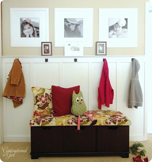 The precious little things in life entryway inspiration for Centsational girl