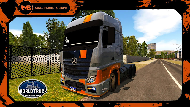 SKINS, SKINS WTDS, SKINS ACTROS, ACTROS GRAND PIX EDITION, SKINS ACTROS WORLD TRUCK