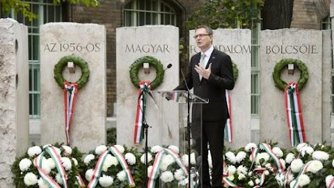 Rétvári: Magyarország a hősök, a szabadságharcosok földje