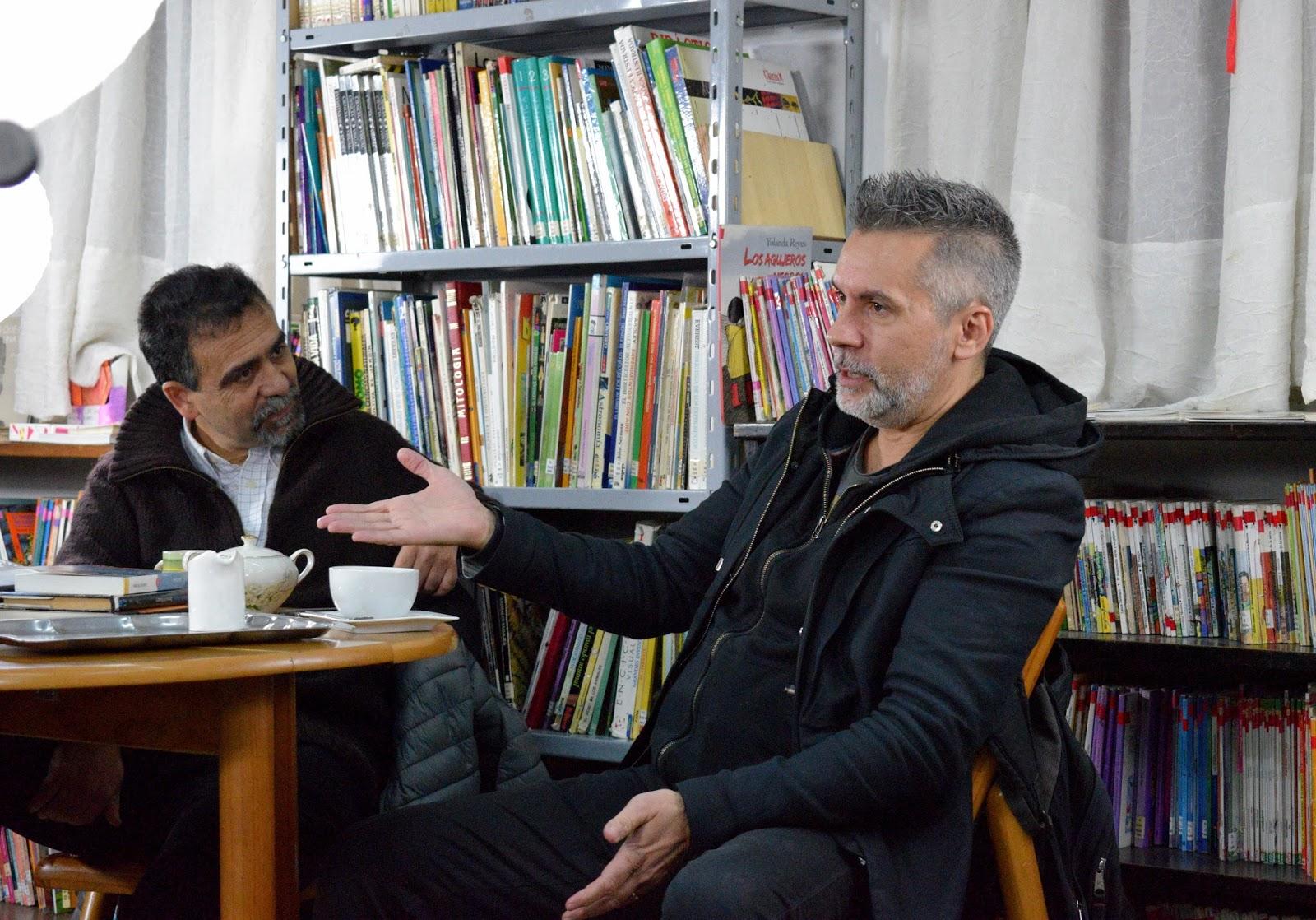 """Marcelo Figueras: """"Yo creo que contar historias es la mejor manera de pensar que tenemos"""""""