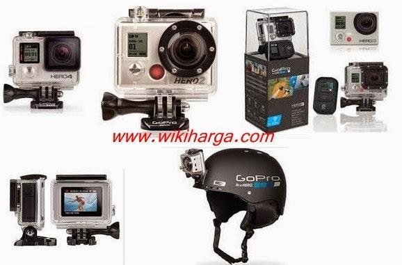Daftar Harga Kamera Gopro 2015 Termurah hingga Termahal