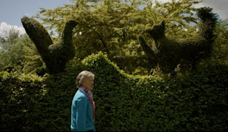 Topiary Animals at Balmoral Cottage