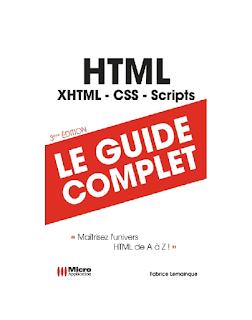 Livre PDF gratuit [ HTML - le guide complet ]