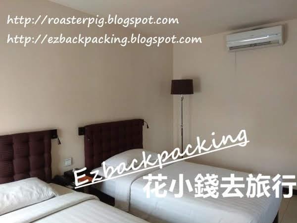 仰光東方大酒店雙床房