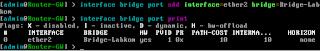 Menambahkan Interface ke Bridge