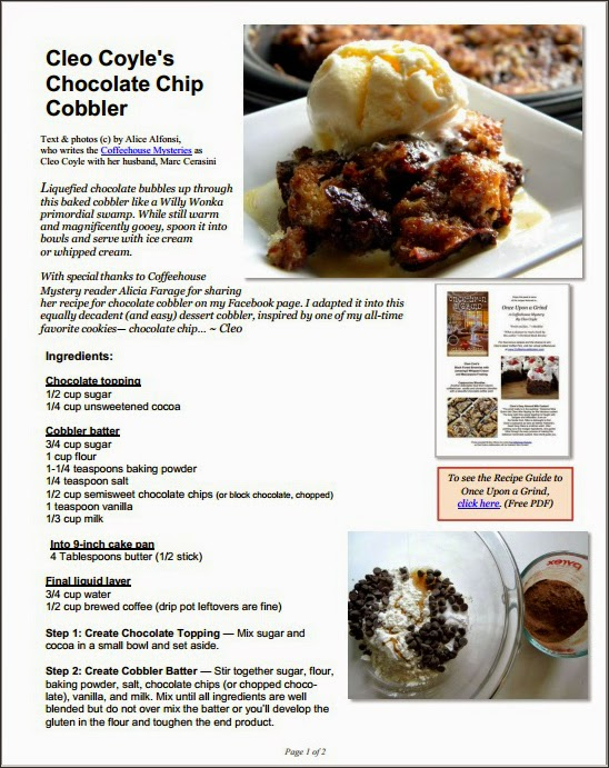 http://www.coffeehousemysteries.com/userfiles/file/ChocolateChipCobbler_CleoCoyle.pdf
