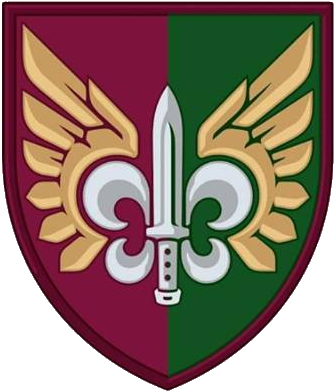 shoulder path of 132nd Reconnaissance Battalion of the Airborne Forces