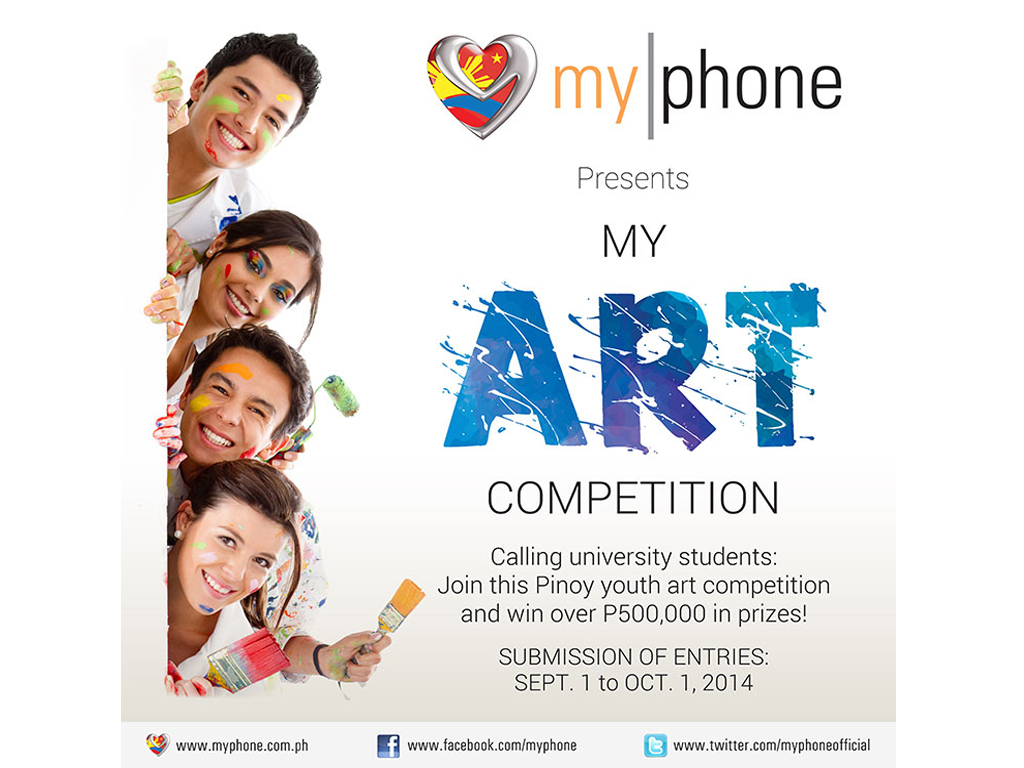 MyPhone creates a new arena for school rivalry: Introducing the MyPhone MyArt Competition