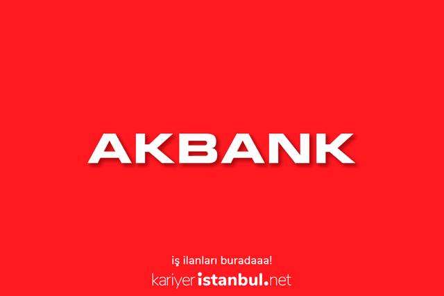 Akbank gişe yetkilisi alımı yapacak. Akbank iş ilanlarına nasıl başvuru yapılır? Detaylar kariyeristanbul.net'te!