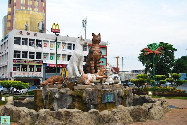 Kuching, isla de Borneo (Malasia)