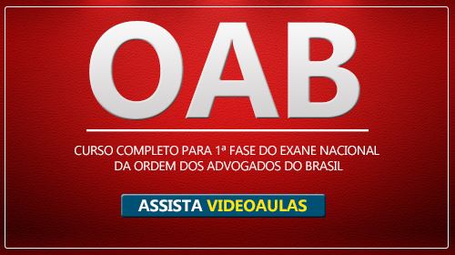 Videoaulas para Exame Nacional da OAB 2018