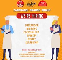 We Are Hiring at Zangrandi Grande Group dan Resto Kitakami Surabaya Nopember 2019