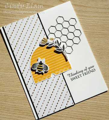 Heart's Delight Cards, Honey Bee, Detailed Bee Dies, 2020 Jan-June Mini Catalog, Sneak Peek, Stampin' Up!