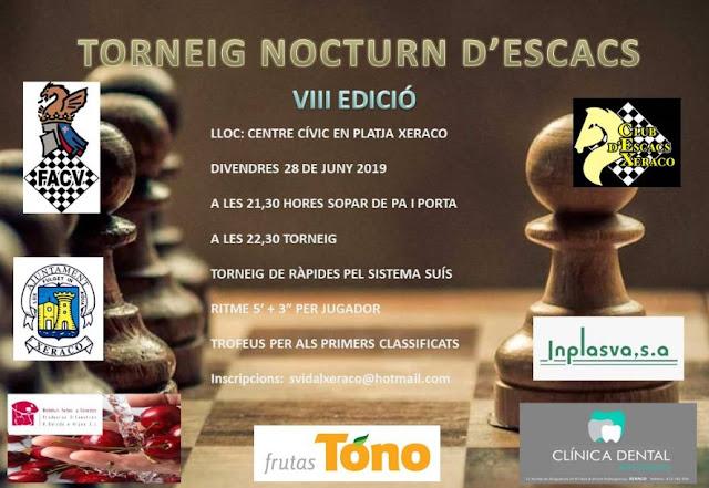 28 junio, Nocturno Xeraco