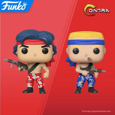 Contra Pop! Video Games Vinyl Figures by Funko x Konami