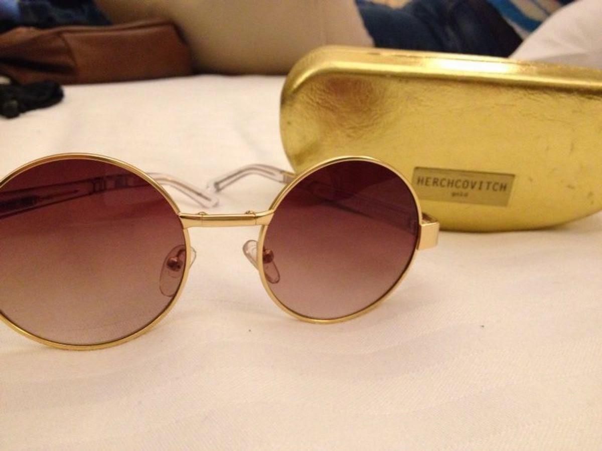 50ad62ce11194 Óculos redondo moldável da coleção Alexandre Herchcovitch. Vocês vão poder  encontrar esse mesmo modelo nas lojas