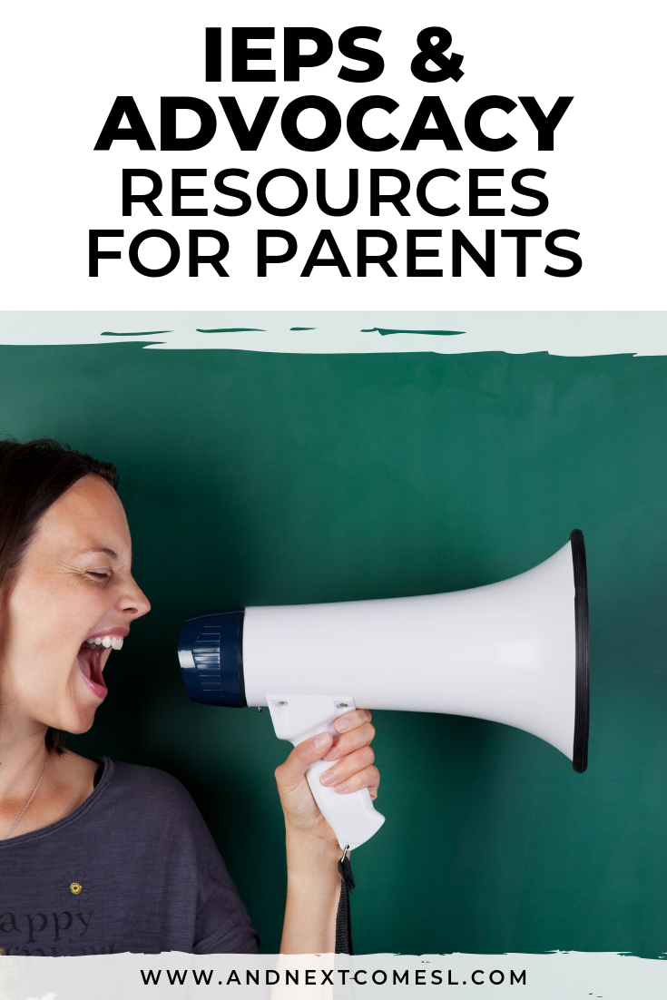 IEP advocacy tips, accommodations, and resources for parents
