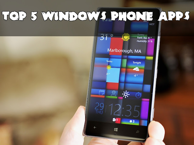 top 5 windows phone aps