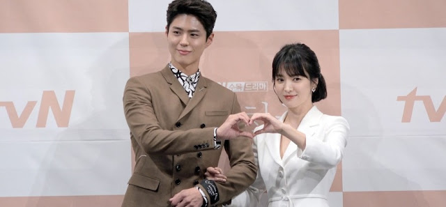 Park Bo-gum and Song Hye-kyo