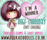 WINNER OVER AT DIGI CHOOSDAY CRAFTING
