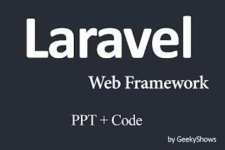 Laravel Study Material