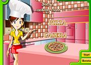 cocinar con sara pizza casera