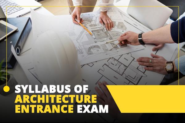 syllabus architecture entrance exam