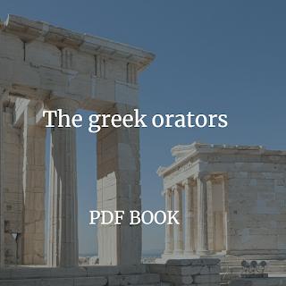 he Greek orators. Free PDF book